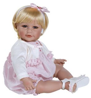 Adora Dolls Rosebud Romper 2021032 20 Blonde in Stock Vinyl Fast