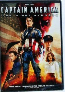 Disney Movie Captain America First Avenger Marvel Studios DVD New Gift