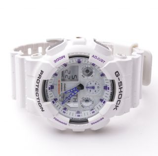 Casio G Shock Analog Digital Sports Multi Function Watch GA100A 7A