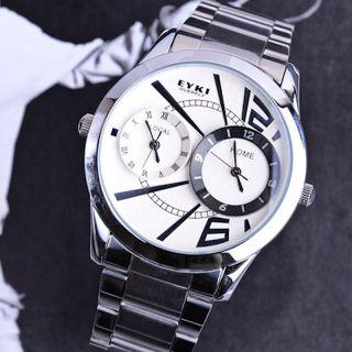 Cool Oversized Light Digital Sports Quartz Rubber Wrist Watches Men