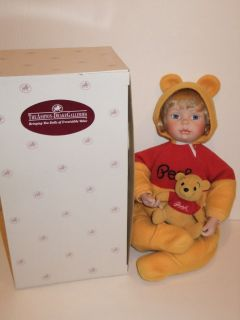 THE ASHTON DRAKE GALLERIES PORCELAIN DOLL WINNIE THE POOH DISNEY
