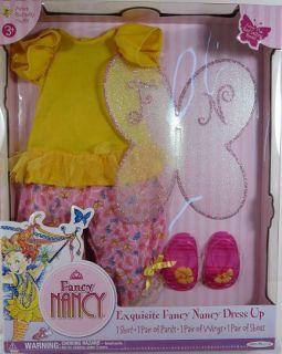 Azure Butterfly Outfit for Fancy Nancy Doll NIP 3 Play Set