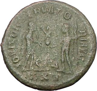 Diocletian 295AD Authentic Genuine Ancient Roman Coin Jupiter Victory