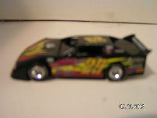 64 ADC 29 Darrell Lanigan Dirt Late Model Race Car Diecast