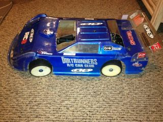 Team Associated RC8 Nitro Late Model RC Dirt Oval w/ Parts & C&M Body