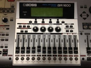 boss br 1600 cd digital recording studio