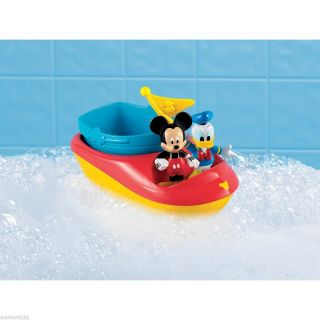 Mickey Mouse Clubhouse Mickey & Donalds Stacking Bath Boats Figures
