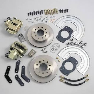 stainless steel brakes rear disc brake conversion kit a125 2