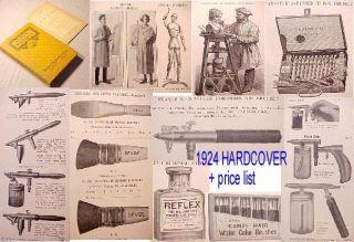 1924 Devoe Artist CTG Air Brush Show Card Sign Painting Sprayer