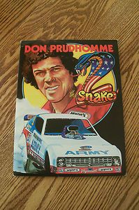 DON PRUDHOMME PLYMOUTH ARROW ARMY FUNNY CAR PRESS KIT (1978)