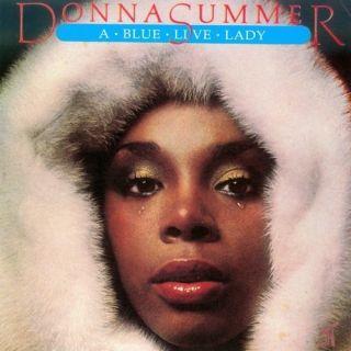 Mega RARE Donna Summer CD Italian Import A Blue Live Lady