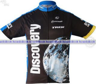 Discovery Channel Cycling Jersey Bike Shirt Size s 3XL