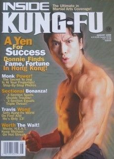 INSIDE KUNG FU MICHAEL WORTH DONNIE YEN BLACK BELT KARATE MARTIAL ARTS