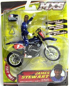 James Stewart MXS Dirt Bike Toys