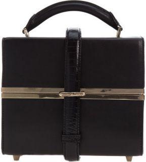 Alexander Wang Runway Tai Dopp Kit Bag Black Leather Satchel ORP $750