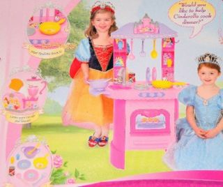 Disney Princess Interactive Talking Royal Kitchen New