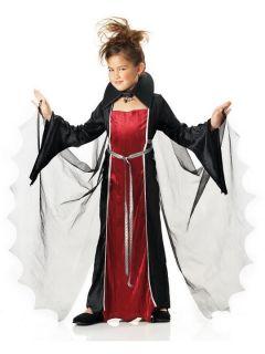 Cutie Pretty Gothic Vampire Girl Child Kids Halloween California