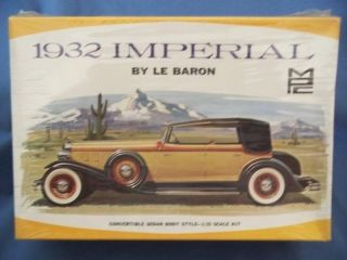 Vintage MPC 1932 Imperial by Le Baron Model Car Kit
