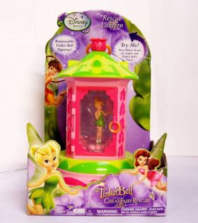 Disney Fairies Tinker Bell Rescue Lantern Figurine 8