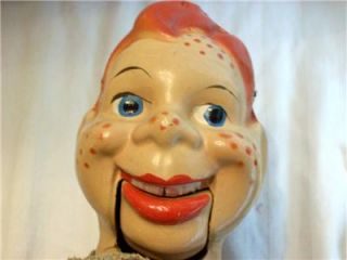 Lot of 2 Vintage 1950s Howdy Doody Marionette Puppets Need Some