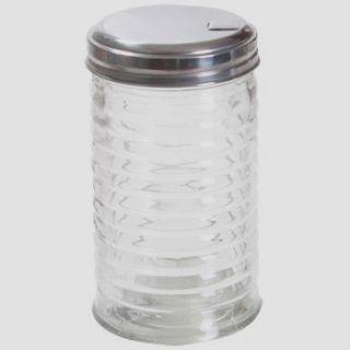 Glass Sugar Creamer Dispenser Classic Diner Vintage Style Flip Cap
