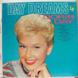 Doris Day Day Dreams LP CL 624 VG Vinyl Record 6 Eye