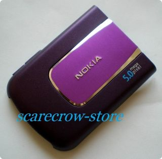 For Nokia 6220C 6220 Classic Purple Battery Back Case Cover