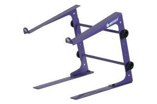 odyssey lstand s purple dj laptop computer stand