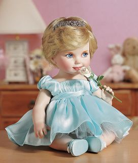 Franklin Mint Princess Diana Porcelain Baby Doll B11ZU22