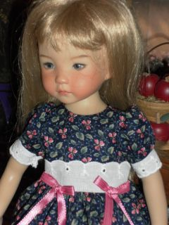 Dress & Crocheted Sweater fit Dianna Effner 13 Little Darling Doll