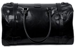 Dr Koffer Chaucer Country Lux Leather Travel Duffel Bag
