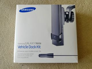 Samsung Galaxy Note Vehicle Dock Kit Car Mount Charger Dock Kit