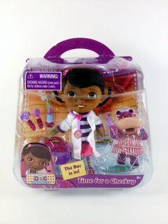 NIB Disney Junior Doc McStuffins Time for a Checkup Playset!