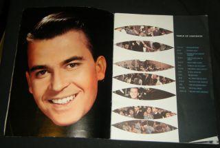 DICK CLARK YEARBOOK ~ Official American Bandstand Yearbook   Frankie