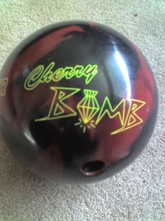Lane 1 Black Cherry Bomb 15lb Bowling Ball