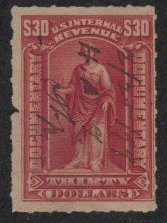 documentary tax revenue stamp scott r177