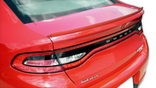Dodge Dart All Models Flexible Moulding Painted Spoiler Wing Trim 2013