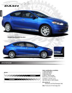 For Dodge Dart Graphics Kit EE1941 Decals Emblems Stripes Trim 2013