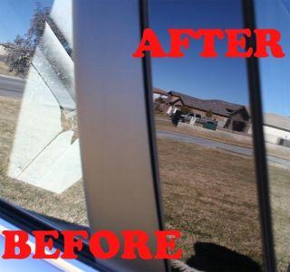 02 08 Dodge RAM Quad Cab Black Pillar Door Covers Post Window Trim