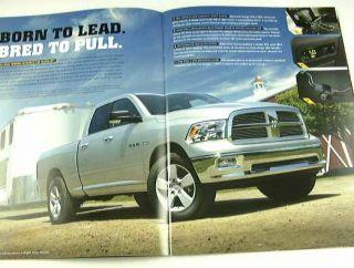 2010 10 Dodge RAM 1500 Truck Brochure Pickup Laramie TRX4 SLT TRX St