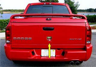 Dodge RAM SRT10 VIPER Truck Head Hood Emblem JUDV UW370/1RAA 6SAA