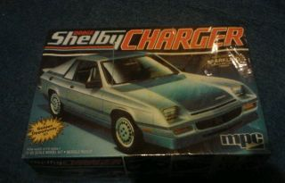 MPC Dodge Shelby Charger Car 1 25 Scale Model