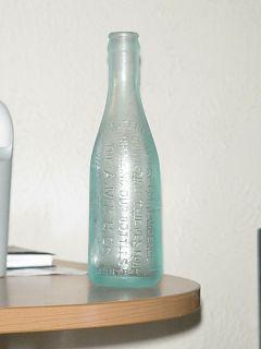 Monterrey and Waco Texas Dr Pepper Thief Soda Water Bottle