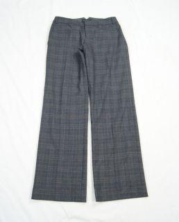 Republic Gray Plaid Wool Blend Martin Fit Dress Pants Size 4  WP415SB
