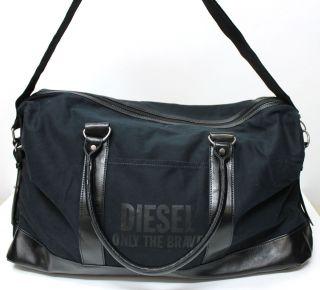Diesel Fuel for Life Black Weekend Bag Travel Bag