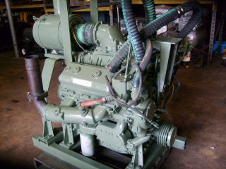 Detroit Diesel GM 6V71N Diesel Engine Marine Industrial Generators