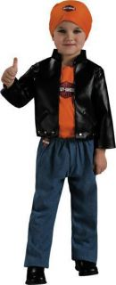 Harley Davidson Biker Jacket Dress Up Halloween Child Costume