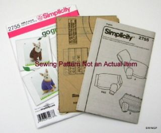 Sewing Patterns For Dog Clothes | Patterns Gallery