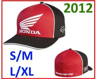 Honda Mens Moto Super Cross MX Flex Fit Hat Clothing Apparel