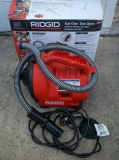 Ridgid Portable Auto Clean Drain Opener Cleaner K 30